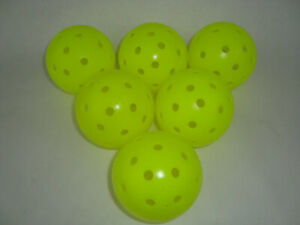 New 12 Franklin X-40 Pickleball Outdoor Ball set of 12  Optic Yellow