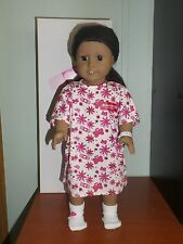AMERICAN GIRL DOLL Fresh From The Hospital w/Gown, Wrist Band, Box, Certificate