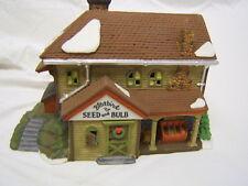 "Dept 56 New England Village Series 1992 ""Bluebird Seed and Bulb"" #5642-1 Mib"