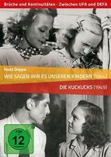 2 DVDs * HANS DEPPE: WIE SAGEN WIR ES UNSEREN KINDERN / DIE KUCKUCKS # NEU OVP &