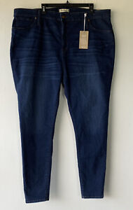 Madewell Women's 37T Curvy High-Rise Skinny Jeans Style K4313 in Hayes Wash NWT