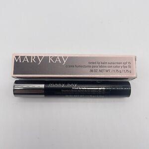 Mary Kay Poppy 025396 Tinted Lip Balm Sunscreen SPF 15 .06 oz - Discontinued