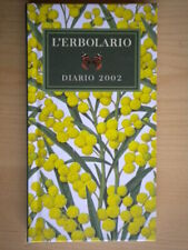 L'erbolario diario 2002LodiIllustrato agenda illustrazioni Alfieri rilegato