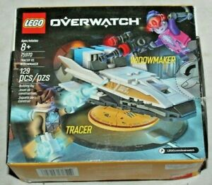 LEGO 75970 Blizzard Overwatch TRACER vs WIDOWMAKER~Retired Set~New in Sealed Box