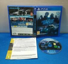 JUEGO PS4 SONY PLAYSTATION 4 PAL ESPAÑOL - NEED FOR SPEED