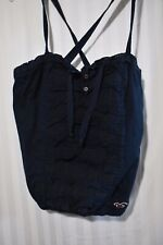 Hollister navy blue lace design tank blouse size X small