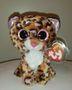 Ty Beanie Boo - PATCHES the Leopard (6 Inch) NEW - MINT with MINT TAGS
