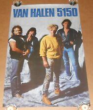 Van Halen 5150 Poster 1986 Original Promo 35x23