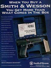1995 SMITH & WESSON SW40F Sigma Series Pistol AD Gun Handgun ADVERTISING