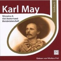 NIKOLAUS FREI - ESPRIT HÖRBUCH-KARL MAY-WINNETOU & OLD SHATTERHAND  2 CD NEW