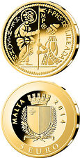 Malta GOLD Coin - THE ZECCHINO - Smallest Gold Coin Programme
