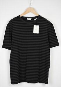 GANT AMERICAN COTTON Men XX LARGE Striped Short Sleeved Black T-Shirt 18947*