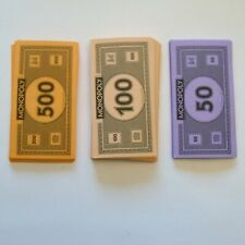 Monopoly Empire Money For Replacement Parts Only $50's,$100's And $500's