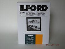 Ilford mgiv RC DELUXE 5x7 SATIN 100 camera oscura carta