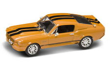 FORD SHELBY MUSTANG GT500 1967 YATMING ROAD SIGNATURE 43202 1:43  NEW ORANGE
