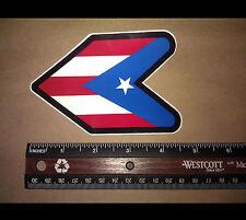 JDM Wakaba Leaf Soshinoya Puerto Rico Vinyl Decal Sticker JDM Racing (Rico Wak)