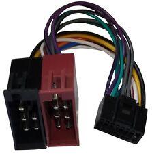 Adaptateur ISO câble fiche faisceau autoradio pour Clarion VRX 633 VDO MR6000