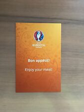 Flyer VIP hospitality euro 2016 francia france rar top Orange