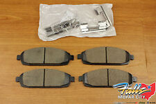 2005-2010 Jeep Grand Cherokee Commander Front Brake Pad Kit Mopar OEM