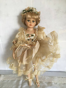 "Vintage Leonardo Collection Ballerina Doll ""Margot"" c 1960 by Phillipe Cambon"