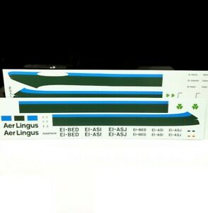 Aer Lingus 1/144 scale Boeing 747-100 Air Airline Model Transfers Decals Airfix