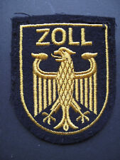 Wasserzoll Zoll Stoffabzeichen für die Uniformjacke