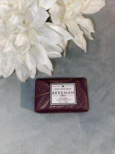 Beekman 1802 Goat Milk Soap Fig Leaf Enriched W/ Lavender Oil 9 Oz