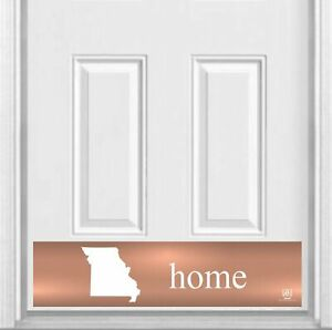 """Home State Magnetic Door Sign Kick Plate, 8"""" x 34"""" and 6"""" x 30"""" Size Options"""