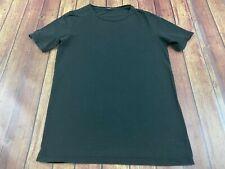 Imperial Black Italian Men's Black Short Sleeve Shirt - Medium
