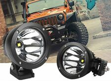 4.7'' CREE LED Work Driving Light Spot Beam 25W Round Cannon Fog Lamp Jeep