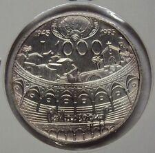 ITALIA REPUBBLICA 1995 1000 LIRE MASCAGNI FDC DA SERIE ZECCA