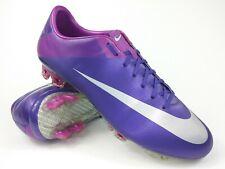 Nike Mens Rare Mercurial Vapor Vll FG 441976 505 Purple Silver Cleats Size 8.5