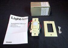 RAB Light Alert Smart Switch Occupancy Sensor LOS 1000W Ivory