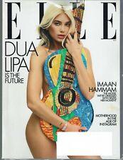 ELLE Magazine May 2020 Issue DUA LIPA Cover/Article -- Imaan Hammam