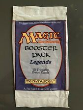 Legends Booster Pack Wrapper MTG Magic the Gathering Empty - Vintage 1994
