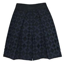 Y's YOHJI YAMAMOTO $940 baggy oversize pleated diamond cut-out shorts 2-JP/6 NEW