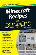 Minecraft Recipes For Dummies, By Stay, Thomas, Stay, Jesse,in Used but Good con