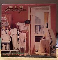 REO SPEEDWAGON LP VINYL RECORD -GOOD TROUBLE-EPIC RECORDS FE 38100-EX/NM