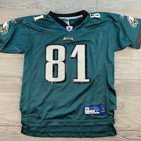 *NFL Reebok Onfield Jersey Terrell Owens Philadelphia Eagles #81 Youth Sz L