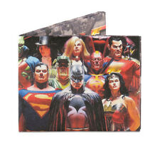 Dynomighty DC COMICS JUSTICE LEAGUE bifold MIGHTY WALLET tyvek DY-805 SUPER HERO