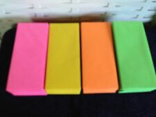 300# 10 Business Envelopes in 4 Astrobight Colors (75)Pink Green.Yellow and Oran