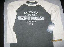 lucky brand kids t-shirt size 5