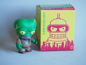 KIDROBOT Futurama Figure Alien - Original witj Box, Bag & Instructions Like NEW