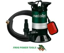 More details for metabo ps7500s submersible pump and 628821000 7 meter discharge hose