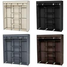 New Closet Wardrobe Space Saving Portable Clothes Storage Organizer with Shelves