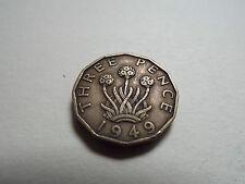 George VI Threepence 1949 (4676)