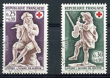 STAMP / TIMBRE FRANCE OBLITERE N° 1540/1541 CROIX ROUGE / MUSIQUE
