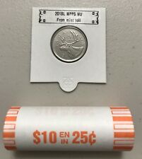 CANADA 2018 New 25 cents ORIGINAL CARIBOU Circulation coin (UNC From mint roll)