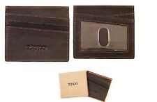 ZIPPO ASTUCCIO Carte di Credito Credit Card Holder in pelle 2005127