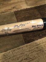 Joe Torre Autographed Custom Bat MLB Atlanta Braves New York Yankees